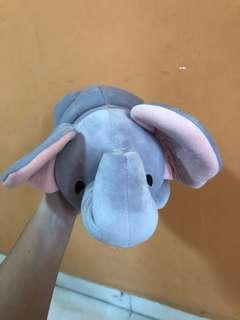 [MINISO] Monkey and Elephant Soft Toy
