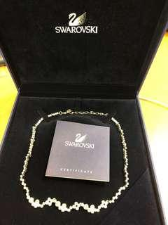 Swarovski 全新水晶頸鍊