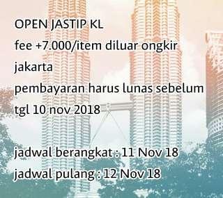 Open jasti KL
