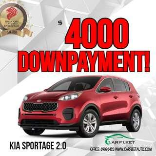 Kia Sportage. $4,000 Downpayment ONLY!! Limited Units! Used Car.