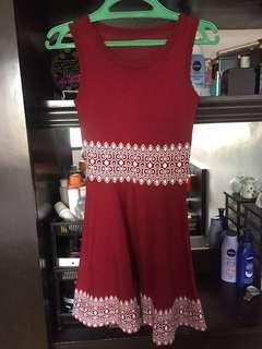 Red Tennis Dress