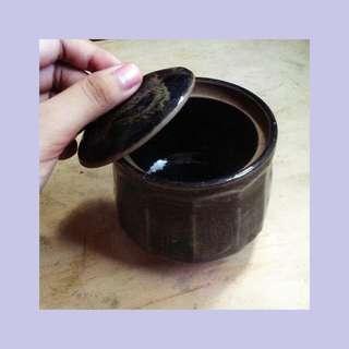Japanese ceramic container