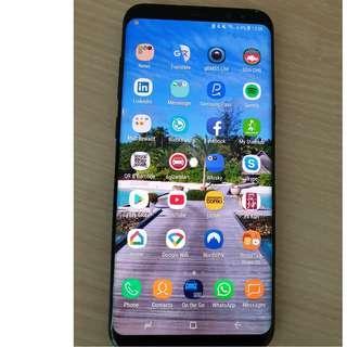 Preloved Samsung S8+ Black