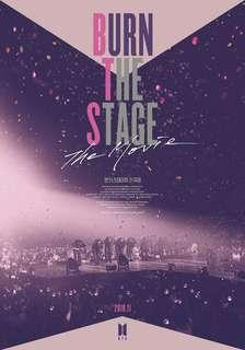 WTS // Burn The Stage Movie Ticket