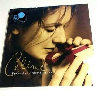 LP Celine Dion. These are special times. Piring hitam. Vinyl record