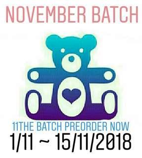November Batch Preorder Now