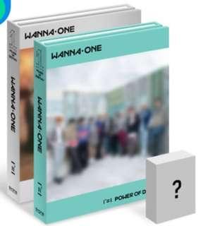 [Preorder] Wanna One - Power of Destiny