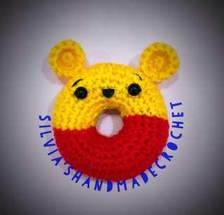 🎄 Crochet Donut ( Pooh )