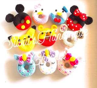 🎄 Crochet Donuts