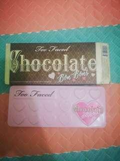 too faced chocolate palette 心心眼影盤