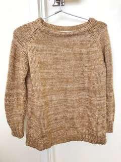 Zara Brown Sweater