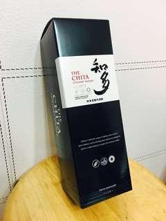 The CHITA 知多 威士忌 吉盒一個