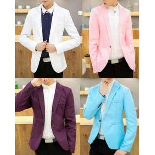 🔥In Stock Men's Formal Blazers Korean Fashion🔥