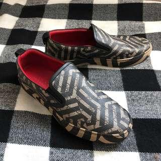 REPRICED GUCCI Supreme Caleido Coated Slip-on Sneakers