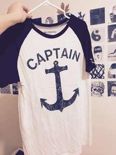 100% cotton captain shirt