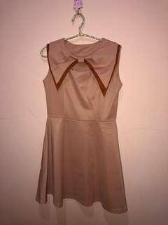 Korea ribbon dress