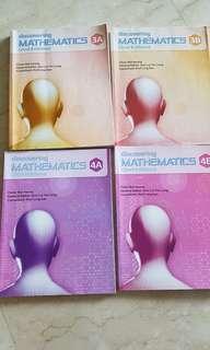 Discovering Mathematics 3A 3B 4A 4B