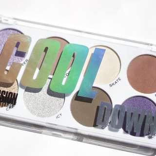 Cool Down Eyeshadow Palette | Obsession Makeup by Revolution Beauty UK Drugstore Cosmetics