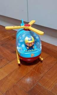 Pororo electronic moving helicopter