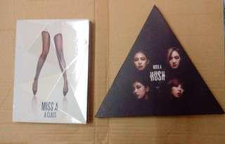 MISS A albums