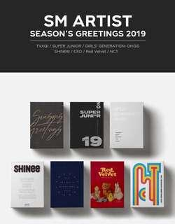 [PO] NCT 2019 SEASON GREETINGS