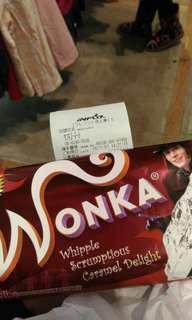 🚚 旺卡巧克力 wonka 巧克力夢工場 強尼戴普 Johnny Depp