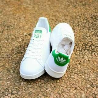 Adidas Stansmith knit white green originals BNIB Size 40-46