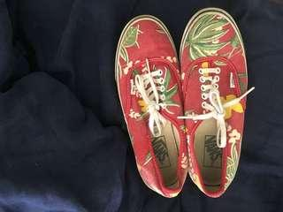 Limited Edition Tropical Vans