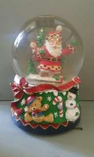 Santa claus music box
