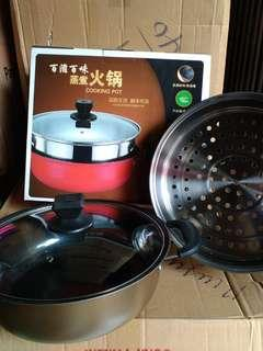 1 SET COOKING POT 28cm (Murah)