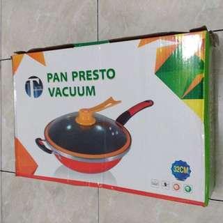 1 SET PAN PRESTO VACUUM 32CM
