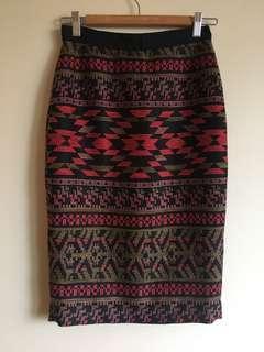 Godwin Charli Aztec skirt