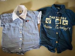 Preloved boys shirts