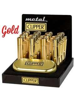 New Clipper Lighter With Gift Box (Gold)