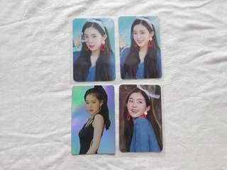 Red Velvet Red Mare official photocard
