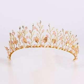 Hair piece crown tiara