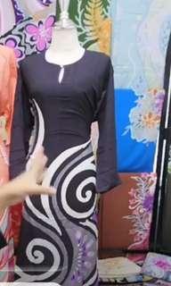 Jubah Batik