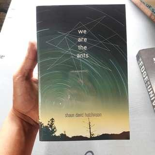 We Are The Ants by David Shaun Hutchinson