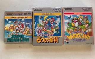 Super Mario Land Gameboy Games Bundle