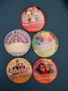 Walt Disney World Pin 美國迪士尼樂園襟章