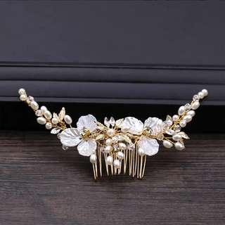 Head piece bridal hair accessories