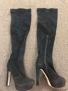 Tony Bianco knee high boots worn once