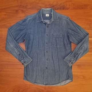 Uniqlo 牛仔襯衫(可當薄外套)