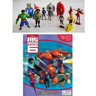 BN: Disney Big Hero 6 My Busy Book including 12 Figurines and a Playmat