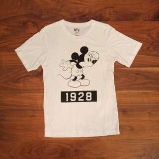 Uniqlo Mickey米奇短袖上衣