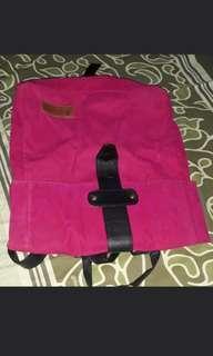 Pink fuschia backpack
