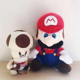*NEW* Super Mario + Bros Toadsworth