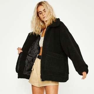 I.AM.GIA Pixie Coat Black