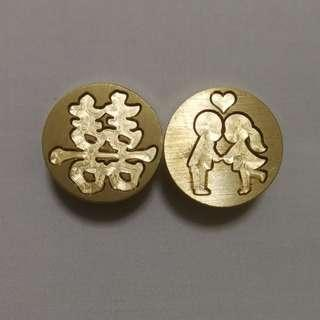 🚚 [In Stock] Wedding 喜 Wax Seal Stamp Heads