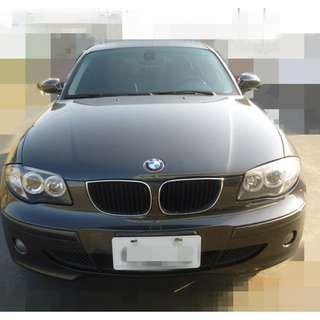 『權利車』2005年 BMW E87 120i 2.0 五門 小肛砲 當鋪流當車(可當零件車)